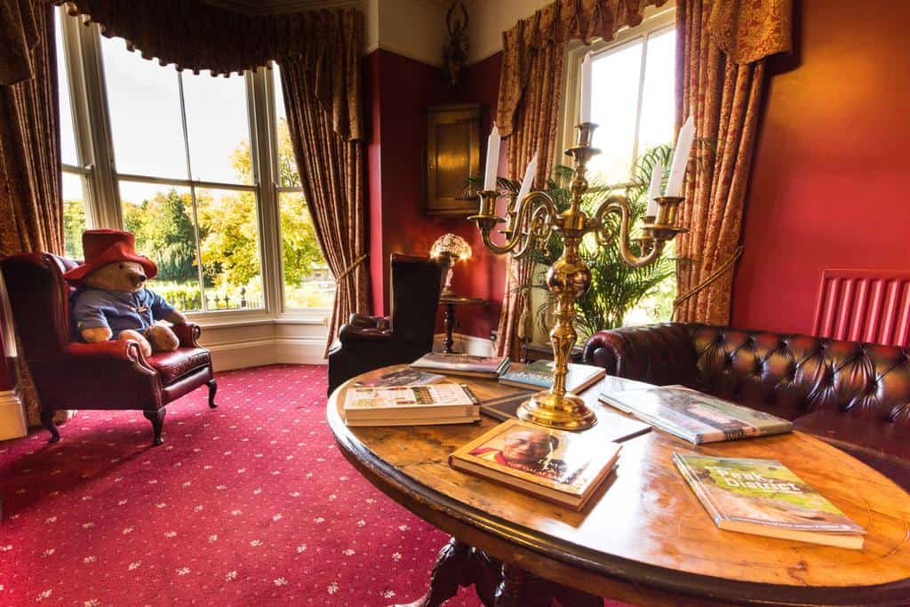 The Roseleigh Guest House Buxton lounge area